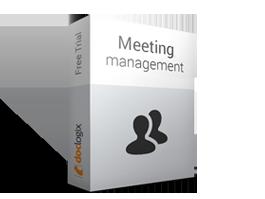 """Sanāksmju pārvaldība """"DocLogix Sanāksmes"""" ļaus"""