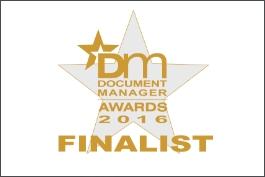 "Document Manager Awards 2016 ""DocLogix"" ir"
