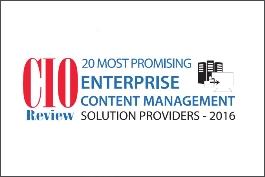 20 Most Promising Enterprise Content Management